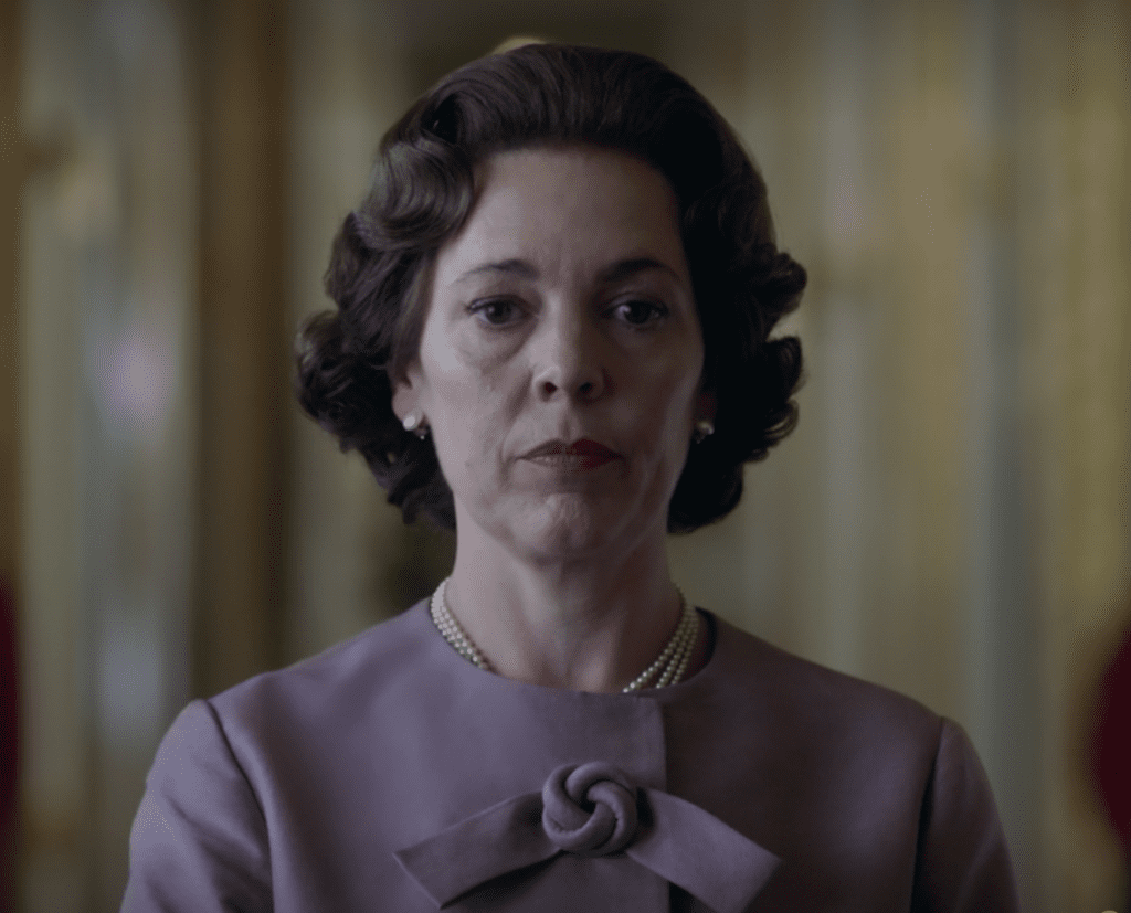 Olivia Colman in the first trailer for season 3 of The Crown